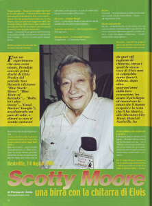 2 - Scotty Moore - Guitar Club April 2001